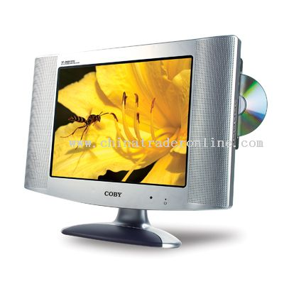 15 TFT LCD TV/MONITOR with SIDE LOADING DVD PLAYER
