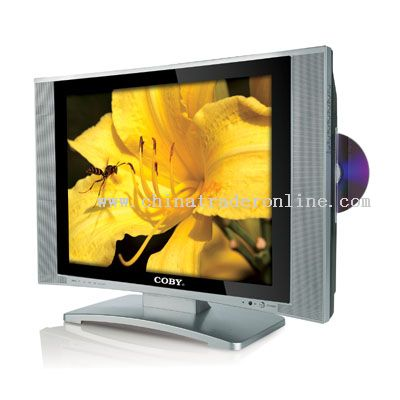 20inch TFT LCD TV with SIDE LOADING DVD PLAYER