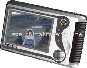 3.5inch COLOR TFT DISPLAY DVD Player