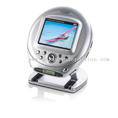 3.5inch LCD SCREEN PORTABLE DVD/CD/MP3 PLAYER