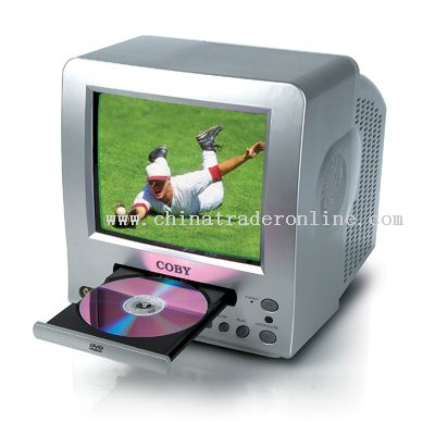 5.5 COLOR TV with BUILT-IN DVD PLAYER