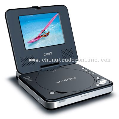 5 TFT PORTABLE DVD/CD/MP3 PLAYER with SWIVEL SCREEN