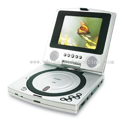 5inch TFT PORTABLE DVD PLAYER with SWIVEL SCREEN