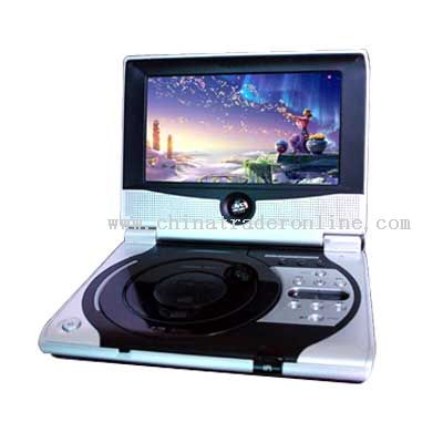 7 Portable DVD player with DVB-T