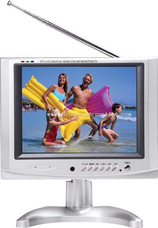 8 inch TFT-LCD DVB-T COLOR TV/MONITOR
