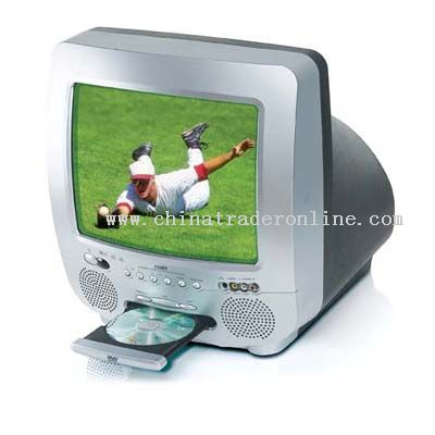 13 COLOR TV with Built-In DVD PLAYER