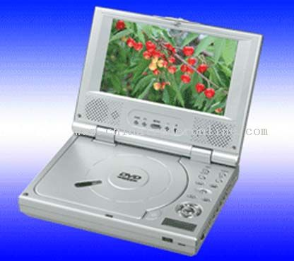 Portable DVD player with 7 inch TFT LCD screen
