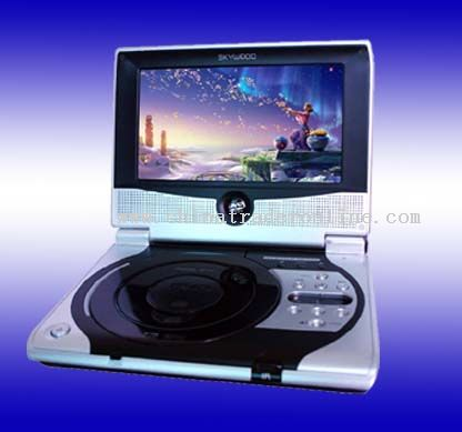 Portable DVD player with built-in DVB-T