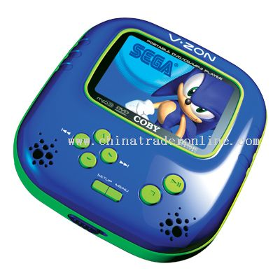 3.5 TFT PORTABLE DVD/CD/MP3 PLAYER WITH BUILT-IN SEGA GAMES