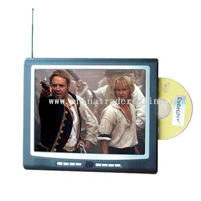 with 10.4 inches TFT LCD display(4:3) Portable DVD Player from China
