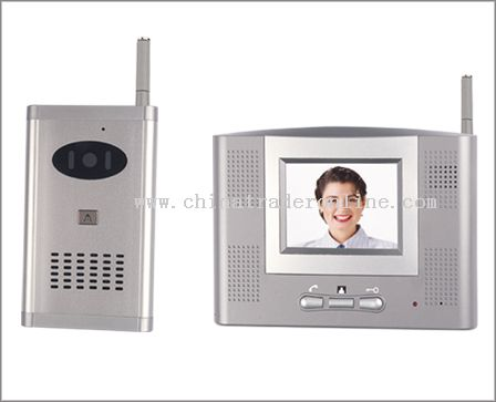 2.4GHz Wireless Vedio Doorbell