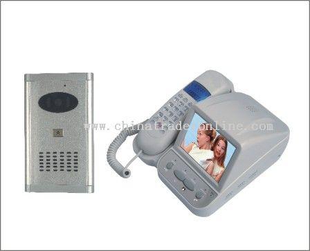 Video doorbell with CID telephone