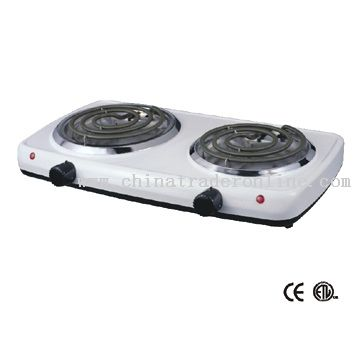 Electric Double Stove