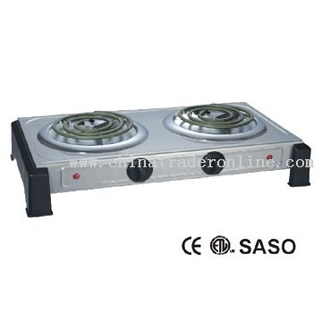 Electric Twin Burner from China