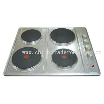 European Style Four-Burner Hot Plates from China