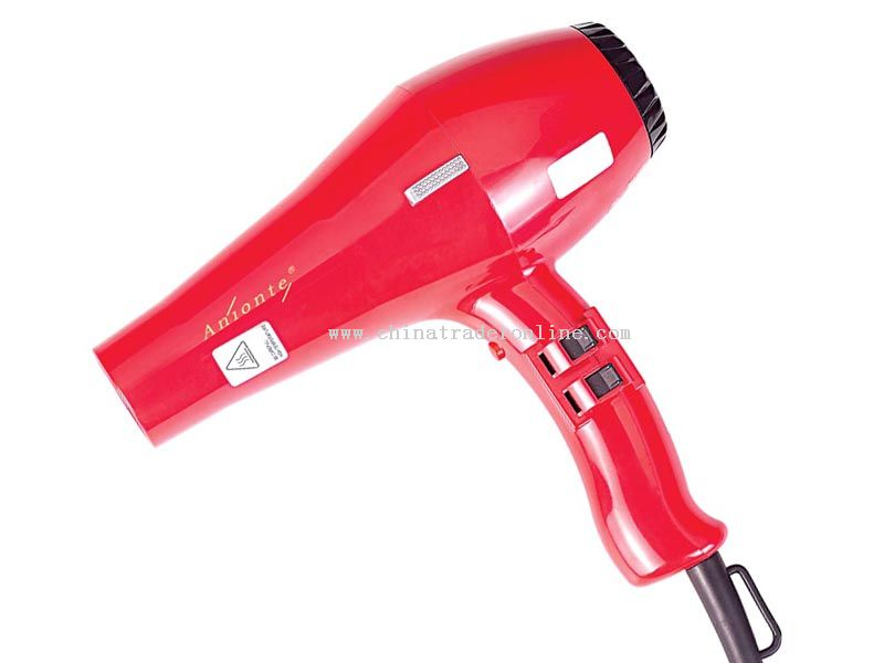 Long-life AC power motor Cool shot function available hair dryer