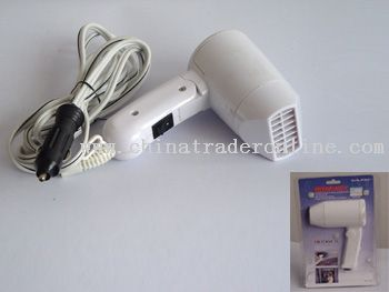 12V DC travel Hair Dryer
