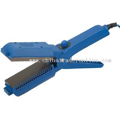 Straightener with temperature controller