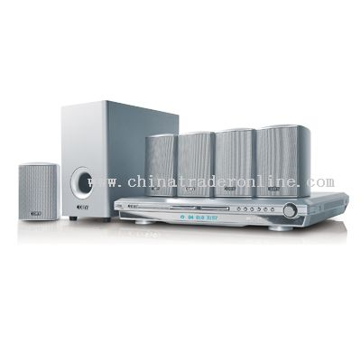 5.1 CHANNEL DVD HOME THEATER SYSTEM WITH DIGITAL AM/FM TUNER DVD PLAYER