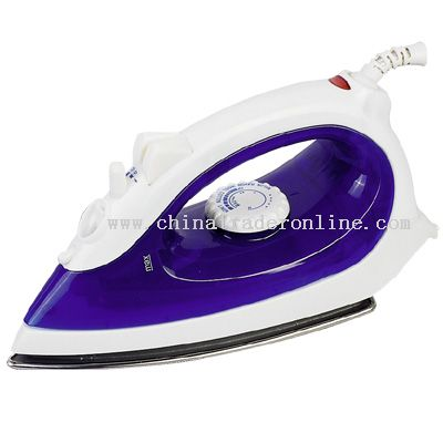 Stainless steel or non-stick soleplate Steam Iron
