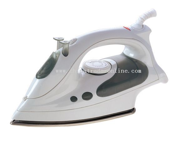 Steam iron Large see-through water tank
