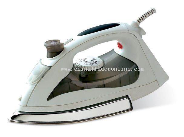 Steam iron with full features