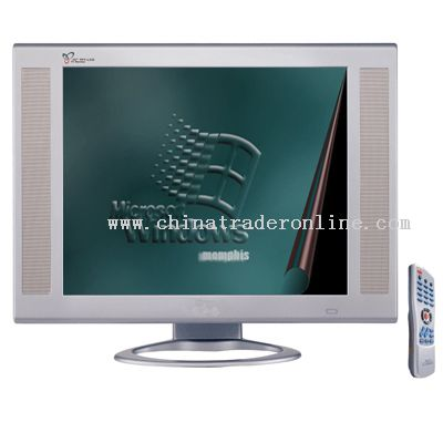 19inch LCD Monitor TV with Wireless control