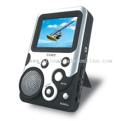 2.5 TFT LCD TV with FM Radio