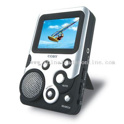 2.5 TFT LCD TV with FM Radio