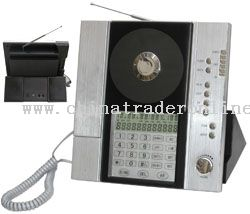 CD\TELEPHONE\FM RADIO