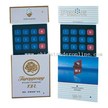 Cigarette case telephone