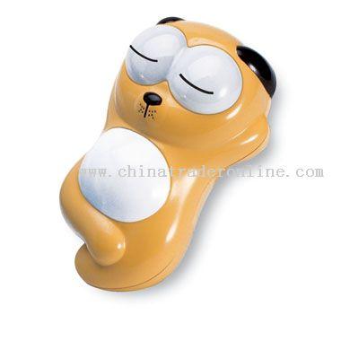 Lazy dog lighted mini telephone