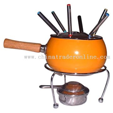 Enamel Roaster Set