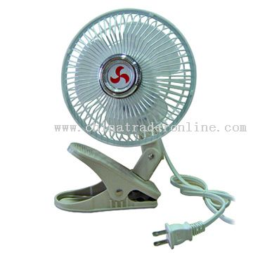 Folding Fan Kia 6inch Clip