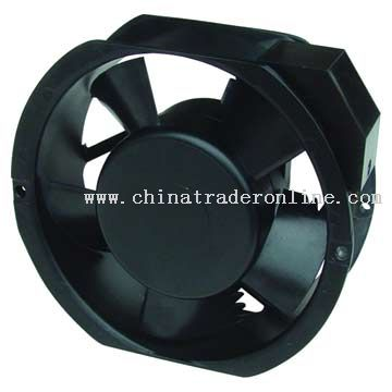 Capacitor-Run Induction Motor Fan