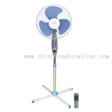 Electric Fan with Remote Control