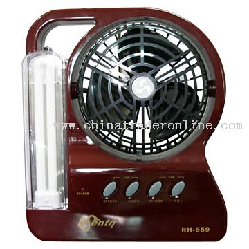 Fan with Emergency Lamp