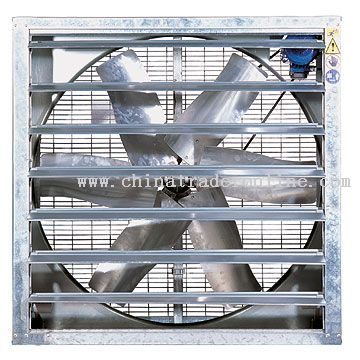 LFB Rectangular Fans with Shutters