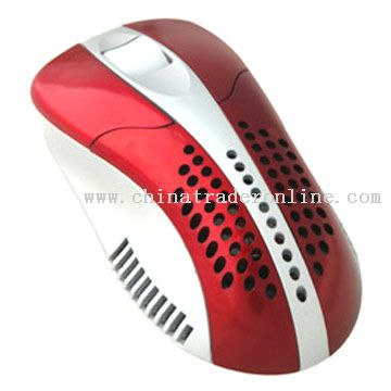 Optical Cooler Fan Mouse