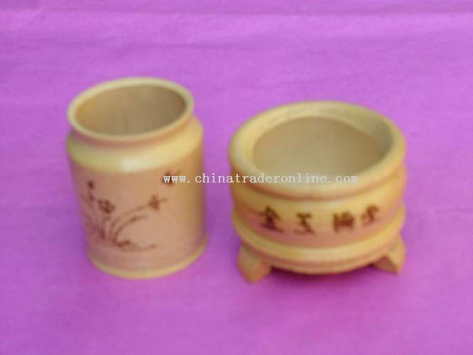 Bamboo Ashtray from China