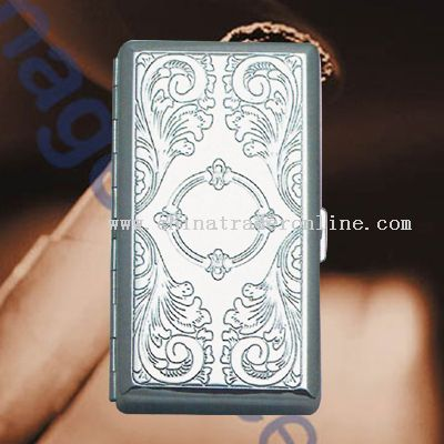 Metal Portable Cigarette Case