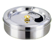 Stainless ashtray from China