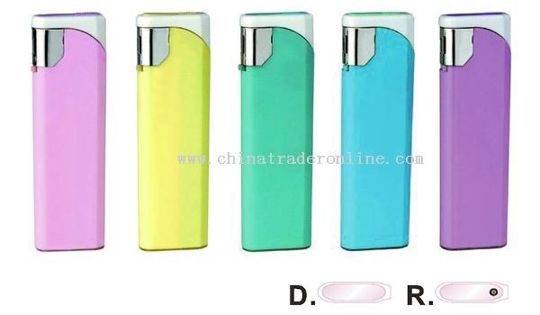 Solid Five Colors Electronic Lighter