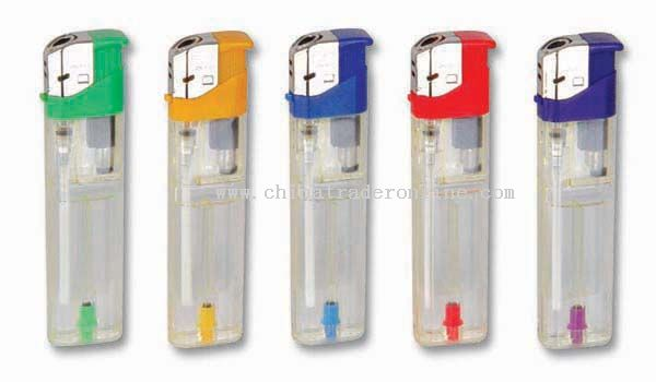 Transparent Gas Tank,Colorful base electronic lighters