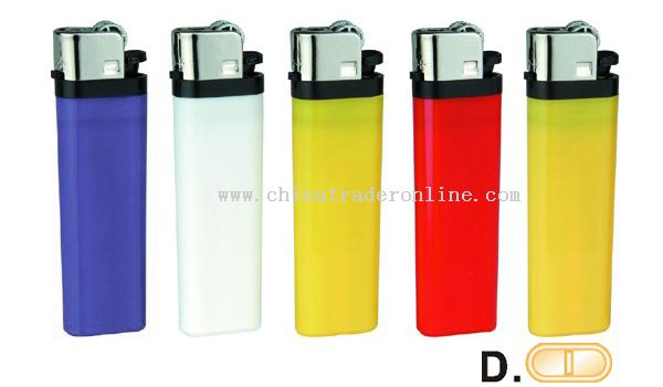 Solid Five Colors Flint Lighter