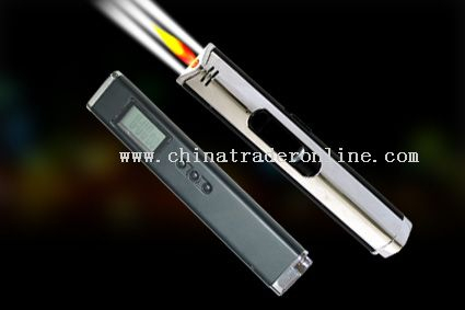 lighter with 3 super white led and Clock from China
