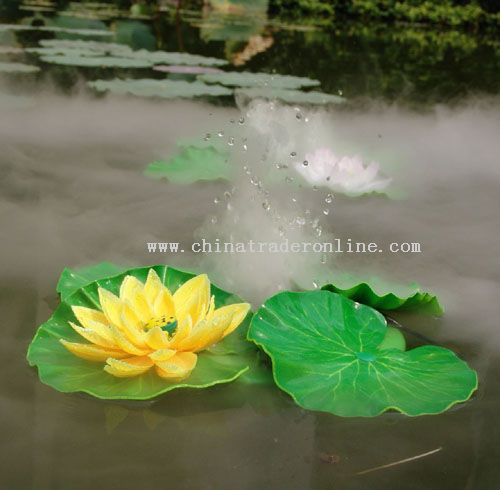 Promotional garden mist maker with floating ring garden for Garden maker online