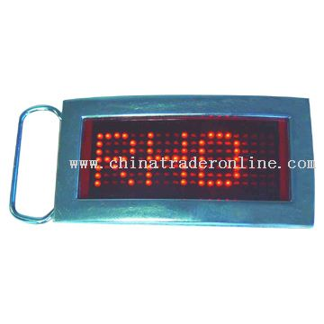 LED Belt Buckle from China