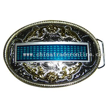 LED Buckle (New Western Style)