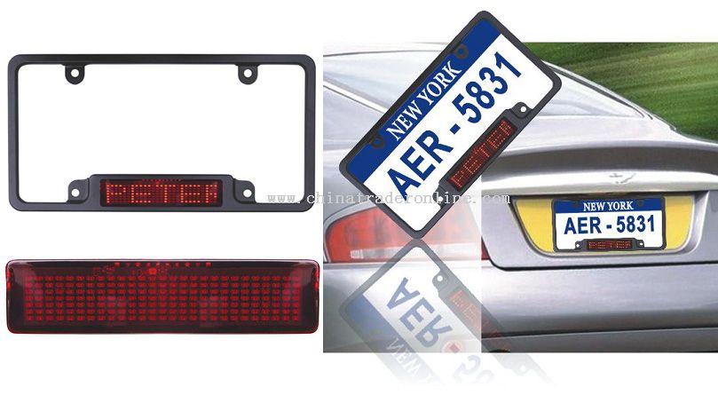 LED Car Frame
